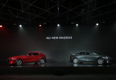 ALL-NEW MAZDA3 สกายแอคทีฟแพลตฟอร์มเจเนอเรชั่นใหม่ ราคาเริ่มต้น 969,000 บาท