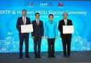 """จุรินทร์ จับมือ """"หัวเว่ย เทคโนโลยี"""" ลุยอบรมการค้ายุคดิจิทัล ให้ SMEs และเด็กไทย GenZ เป็น CEO"""